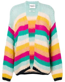 Oulala Striped Cardigan