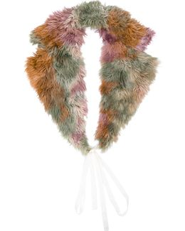 Fur-lined Scarf