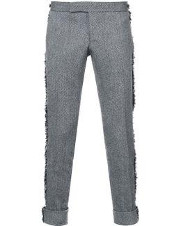 Fringe-trimmed Trousers