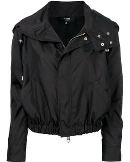 Cropped Drawstring Jacket