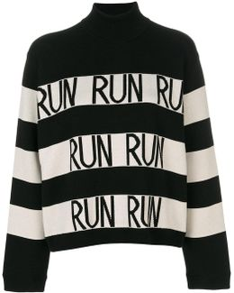 Run Striped Jumper