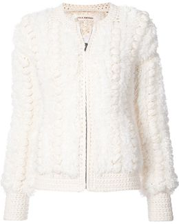Knitted Zip Jacket