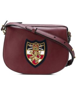 Appliqué Detail Crossbody Bag