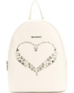 Heart Plaque Backpack