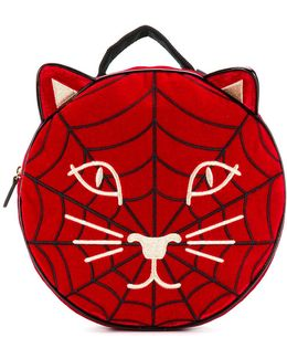 Spiderweb Kitty Backpack