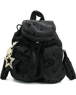 Dot Pattern Mini Backpack