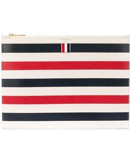 Striped Document Holder