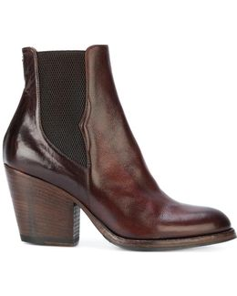 Western Heeled Boots