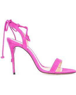 Tie Detail Stiletto Sandals