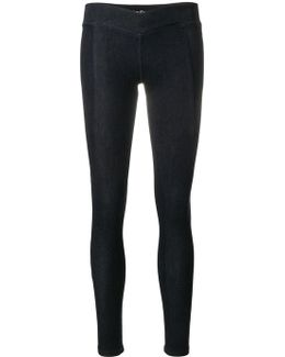 Skinny Rear Logo Trousers