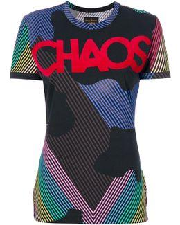 Chaos Print T-shirt