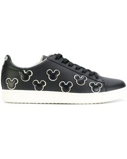 Mickey Mouse Patch Sneakers