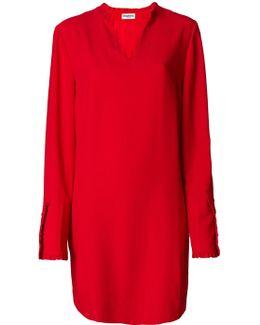 Boxy V-neck Dress