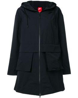 A-line Long Jacket