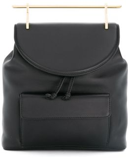Gold Handle Backpack
