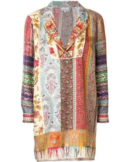 Embroidered Shift Blouse