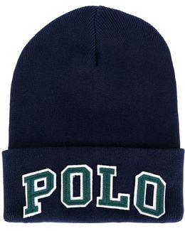 Polo Embroidered Beanie