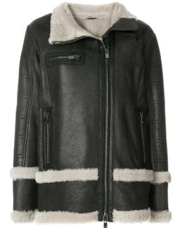 Oversized Fur-lined Coat