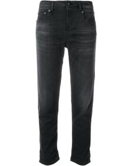 Stretch Slouched Jeans