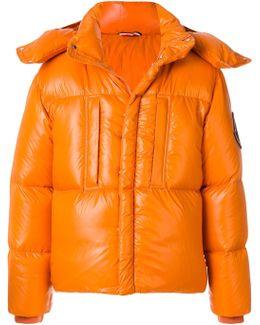 Glossy Padded Jacket