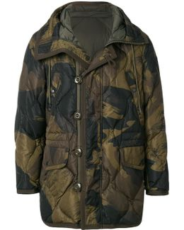 Camouflage Quilted Jacket