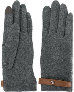 Strap Detail Gloves