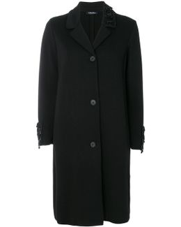 Embellished Detail Coat