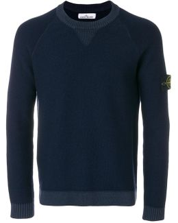 Logo Patch Knitted Jumper