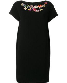 Butterfly Embellished Dress