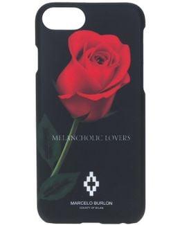 Rose Print Iphone 7 Case