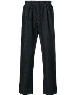 Elastic Button Trousers