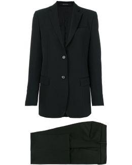 Two Piece Trouser Suit