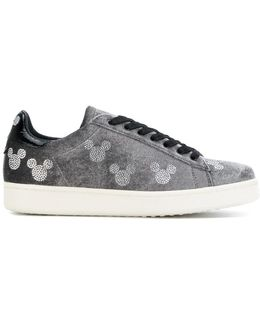 Mickey Stamp Sneakers