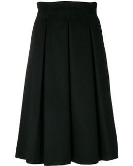Full Pleated Skirt