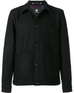 Open Pocket Shirt Jacket