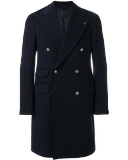 Peaked Lapels Coat