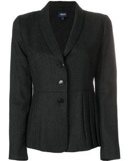 Pleated Hem Jacket