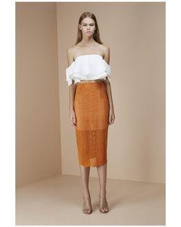 Think Twice Lace Skirt