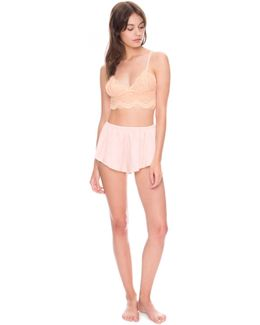 Story Teller Silk Shorts