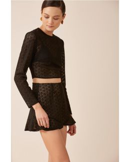 Dreamers Long Sleeve Lace Top