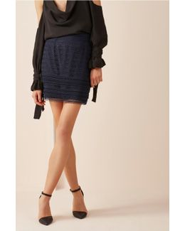 All Night Lace Skirt