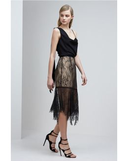 Above Water Lace Skirt