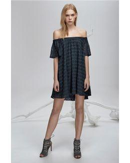 Ascot Ruffle Dress