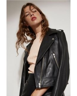 Lesson Learnt Leather Jacket