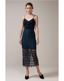Stay Close Lace Skirt