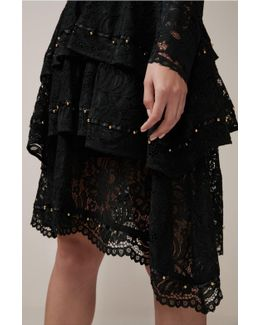 Star Crossed Lace Skirt