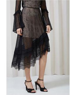 Slide Lace Skirt