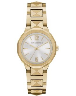 Joleigh Ladies Watch Brushed Gold/silver