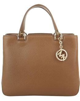 Anabelle Md Tz Leather Tote Luggage