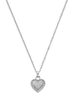 Ladies Brilliance Necklace Silver